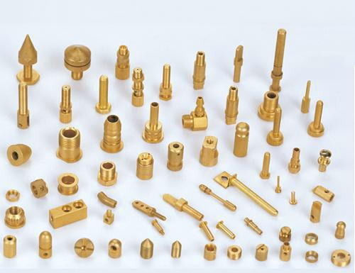 定制非标铜件 - 异性铜杆