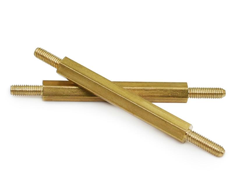 定做加工生产m3铜螺杆