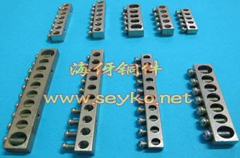 单排螺孔铜接线端子