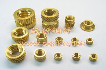 非标准件铜螺母m6